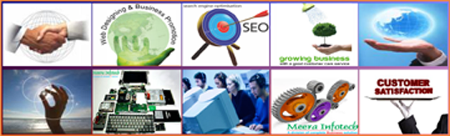 Meera Infotech is one of best webdesigning, web development, search engine optimization(SEO) and hardware sales. service, repairing company in Bandra, Mumbai